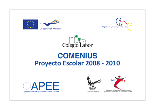 Cartel Comenius 2008-2010