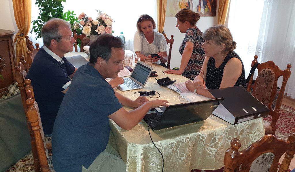 Reunión de coordinadores en Koszalin, Polonia (Agosto 2019)