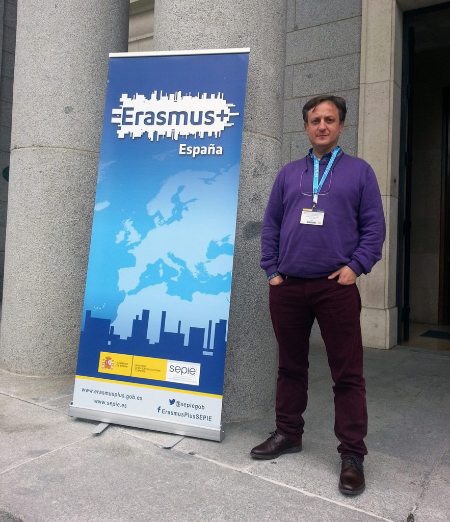 Manuel Rodríguez Terés - Coordinador Proyecto Erasmus+ Colegio Labor