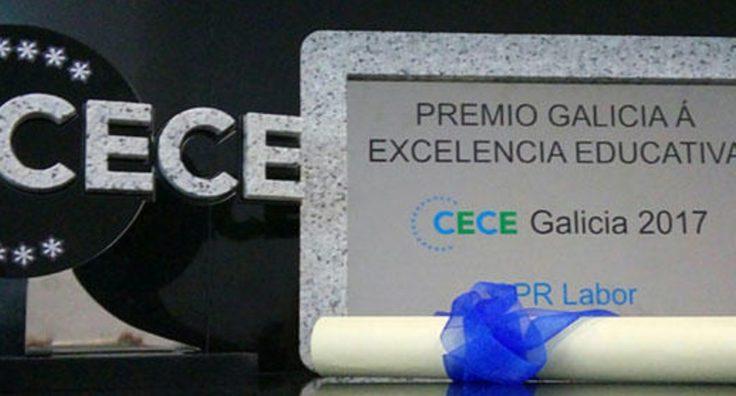 Galardón Premio Galicia a la Excelencia Educativa 2017